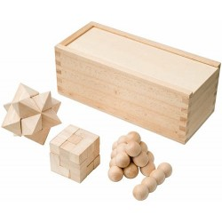 Set de 3 puzzles TRICKY