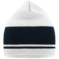 Bonnet tricot bicolore