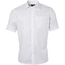 Chemise Micro Twill Homme Manches courtes