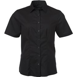 Chemise Oxford Femme Manches courtes