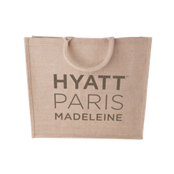 Sac shopping en jute 240 gr/m2