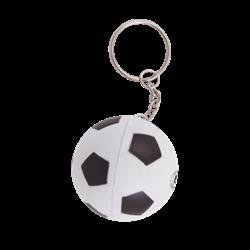 Anti-stress Ballon de fooot avec porte-clés