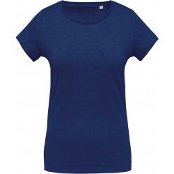 T-shirt coton BIO col rond femme