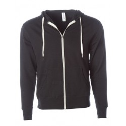 Unisex Midweight French Terry Zip Hood