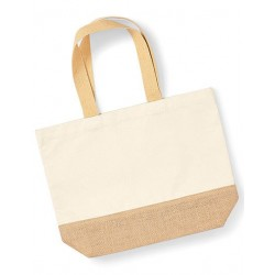 Jute Base Canvas Bag