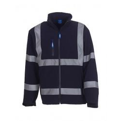 High Visibility 2 Bands & Braces Softshell Jacket